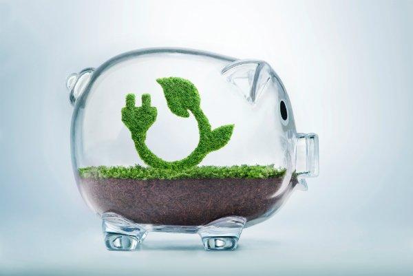 sparegris miljøvenlig besparelse med Luft til luft varmepumper