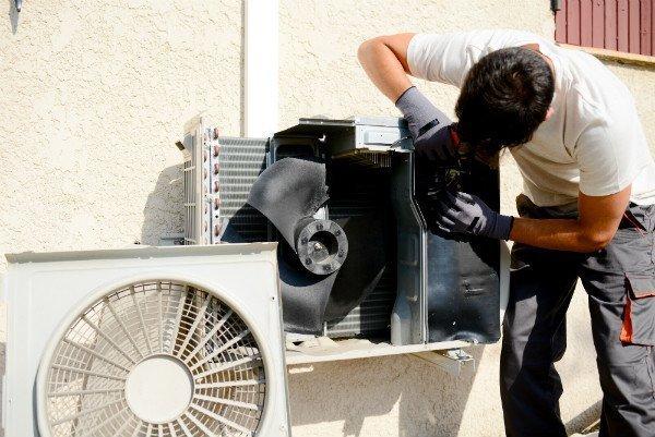 installation af luft til luft varmepumper