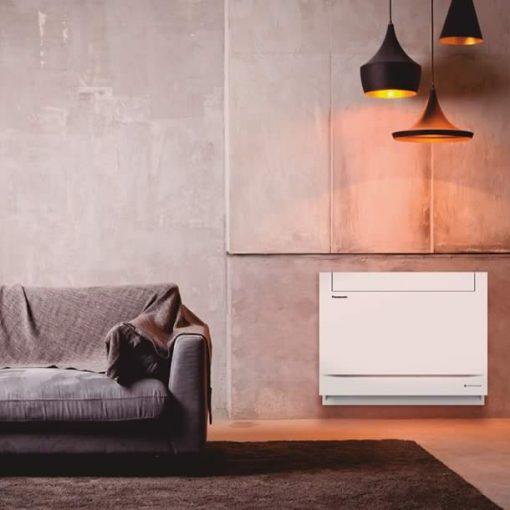 Panasonic Z25UFEAW Gulv kontrolleret varme- og kølesystem