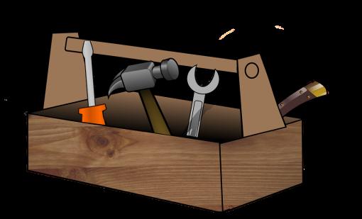 Værktøjskasse hammer skruetrækker